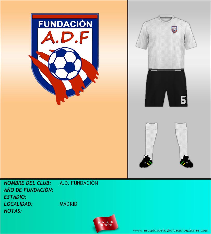 Escudo de A.D. FUNDACIÓN