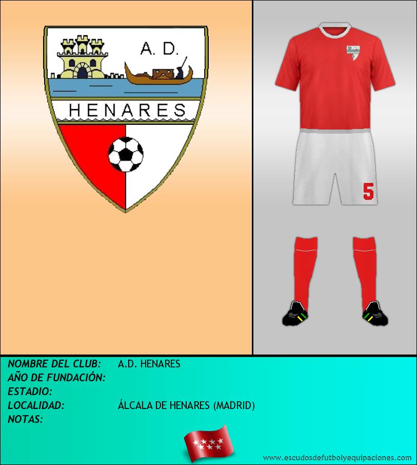 Escudo de A.D. HENARES