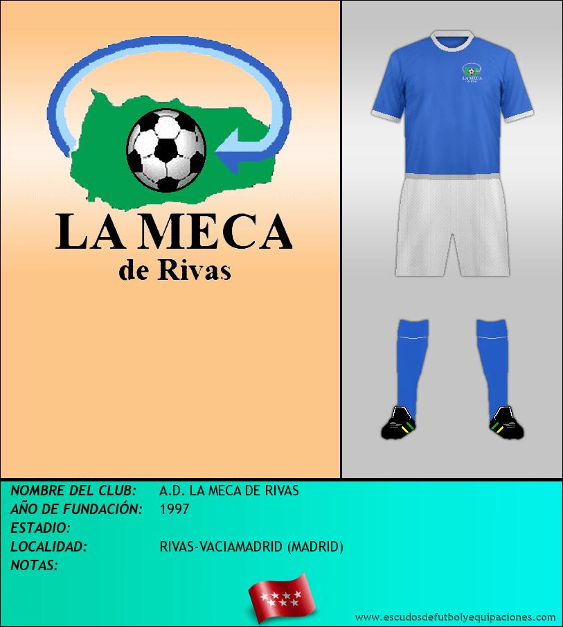 Escudo de A.D. LA MECA DE RIVAS