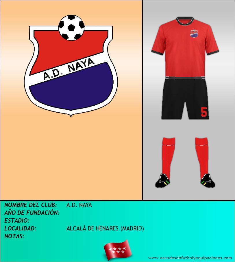 Escudo de A.D. NAYA