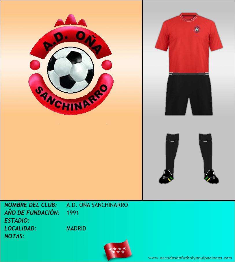 Escudo de A.D. OÑA SANCHINARRO