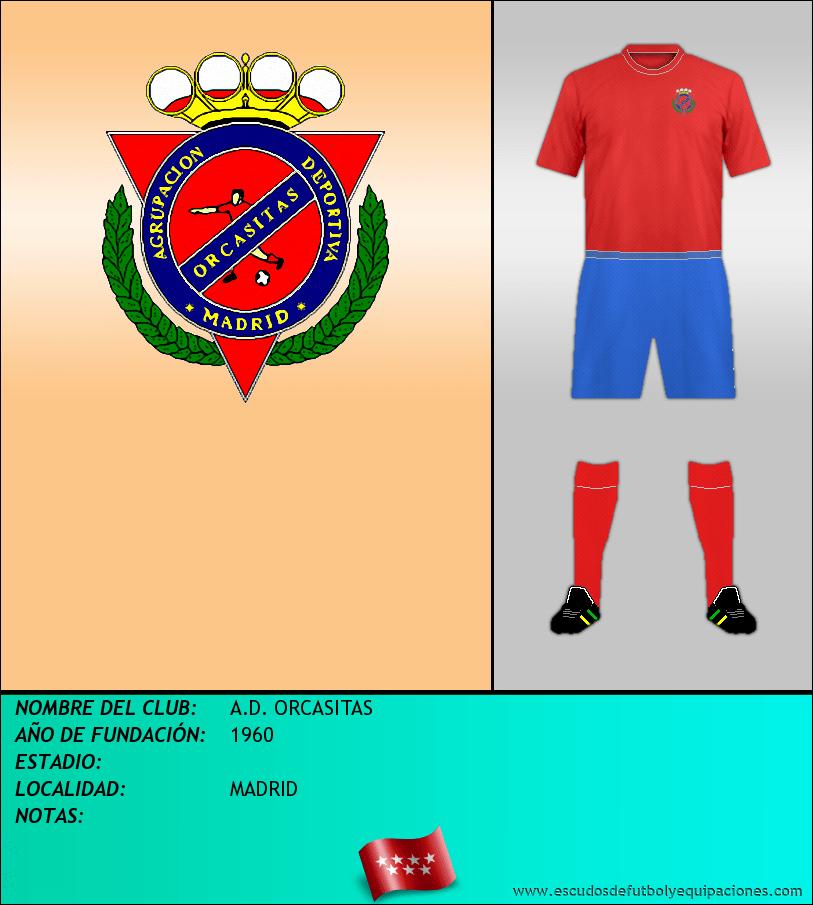 Escudo de A.D. ORCASITAS