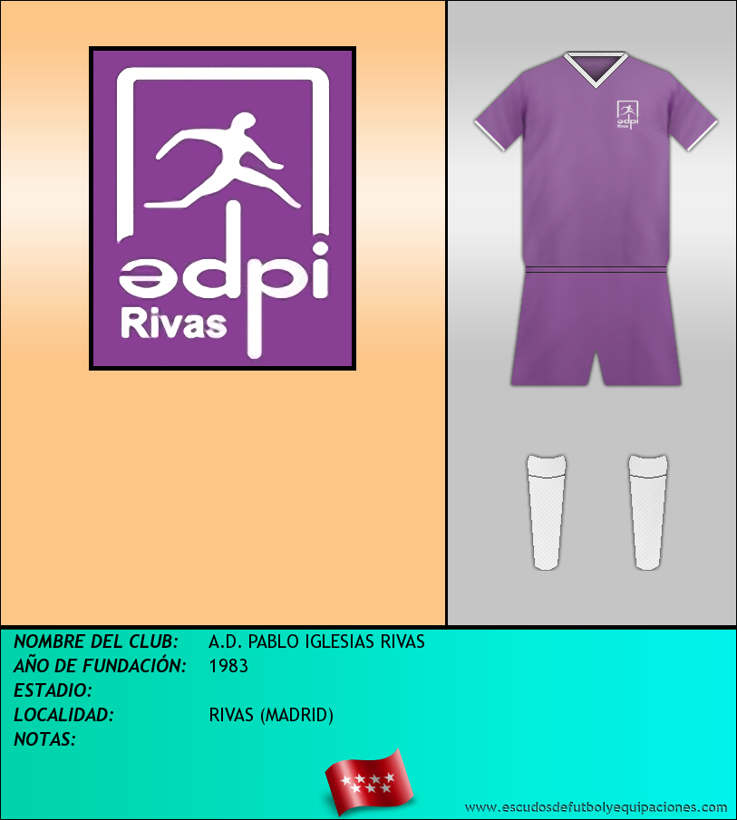 Escudo de A.D. PABLO IGLESIAS RIVAS