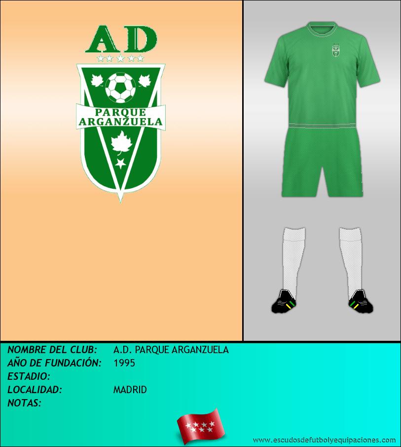 Escudo de A.D. PARQUE ARGANZUELA
