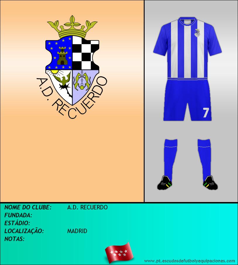 Escudo de A.D. RECUERDO