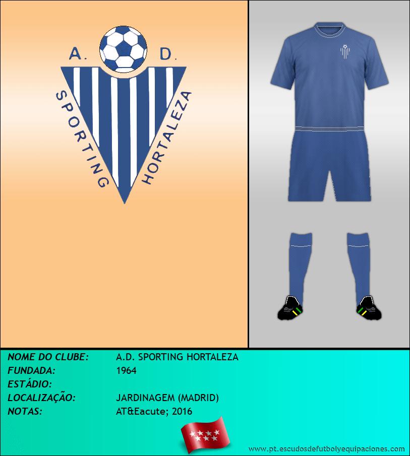Escudo de A.D. SPORTING HORTALEZA