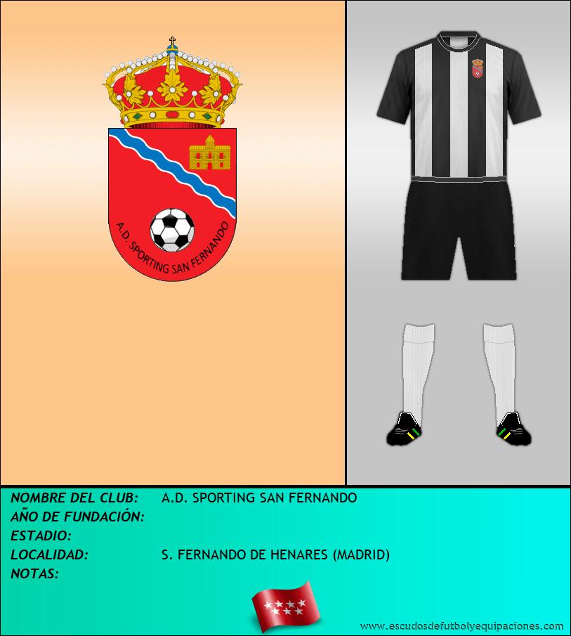 Escudo de A.D. SPORTING SAN FERNANDO