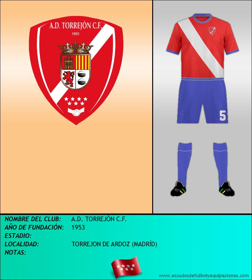 Escudo de A.D. TORREJÓN C.F.