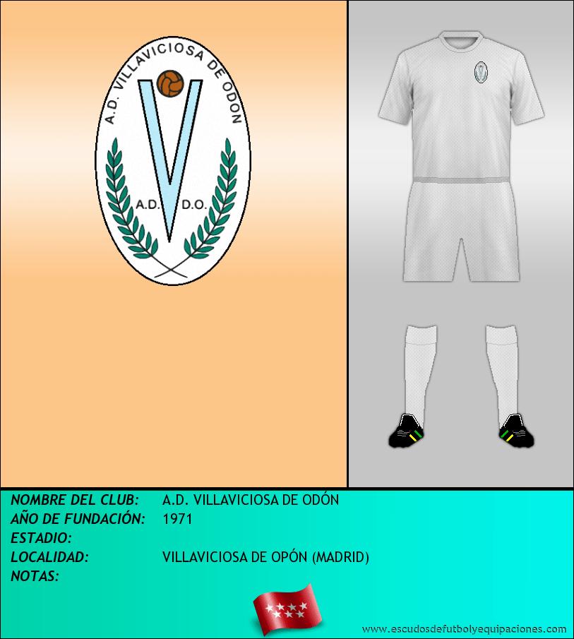 Escudo de A.D. VILLAVICIOSA DE ODÓN