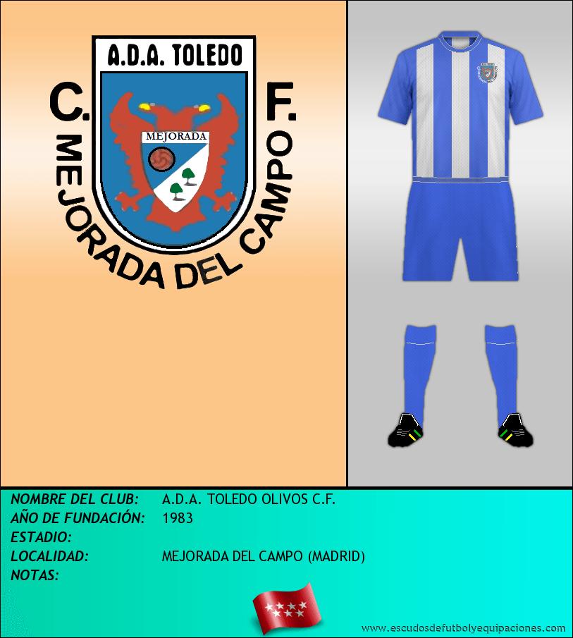 Escudo de A.D.A. TOLEDO OLIVOS C.F.
