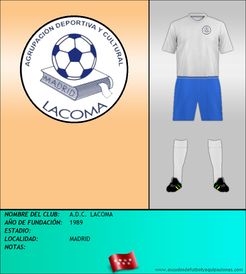 Escudo de A.D.C.  LACOMA