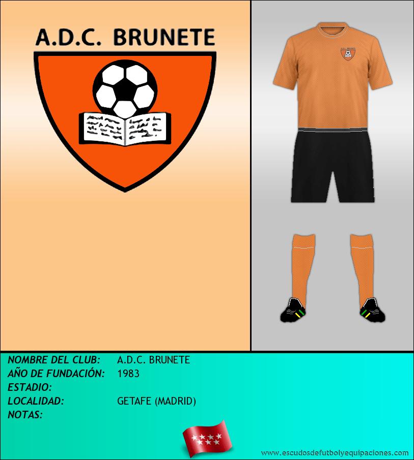 Escudo de A.D.C. BRUNETE