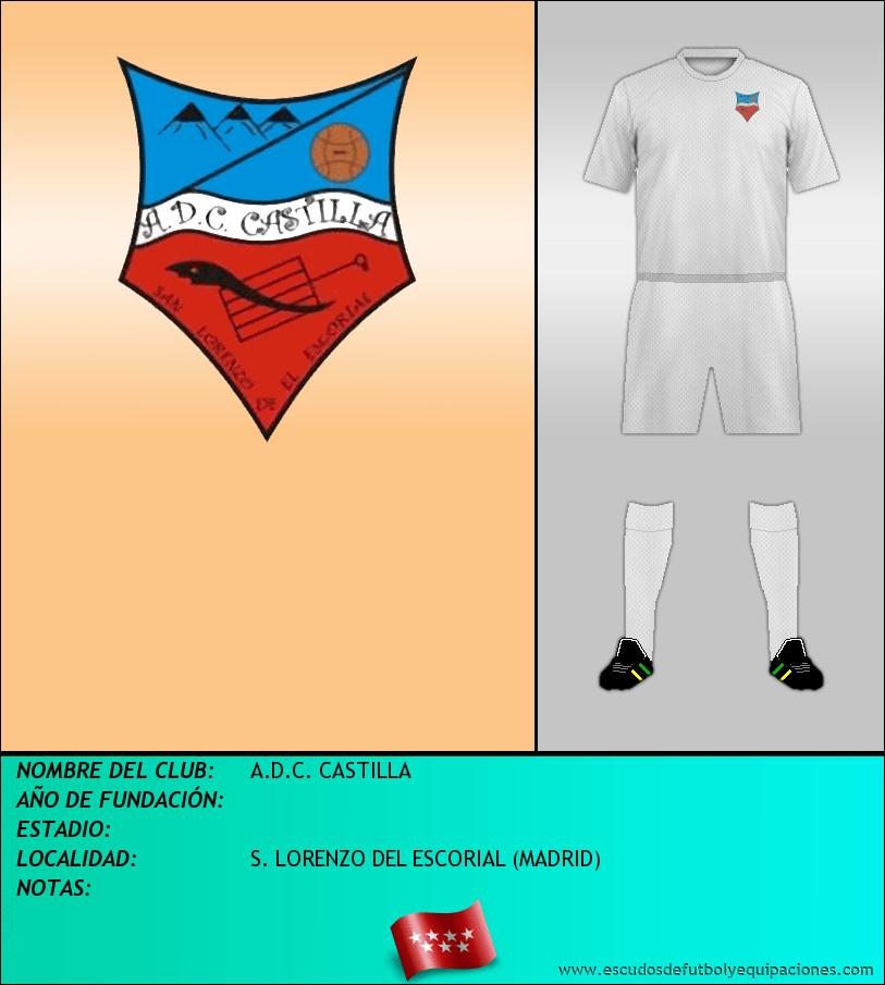 Escudo de A.D.C. CASTILLA