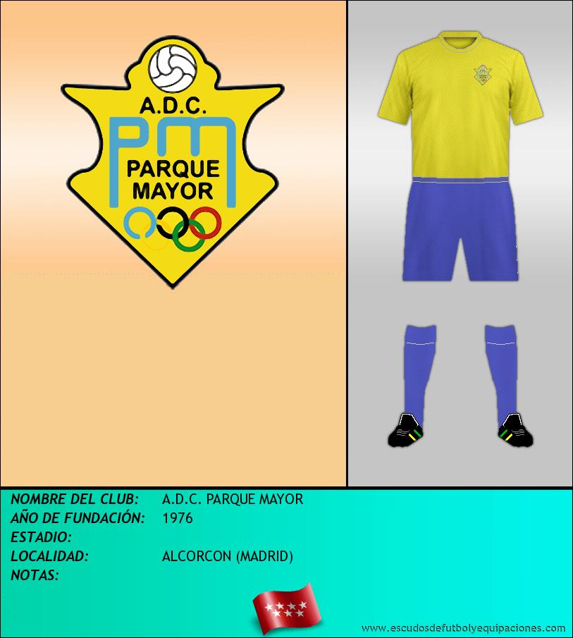 Escudo de A.D.C. PARQUE MAYOR