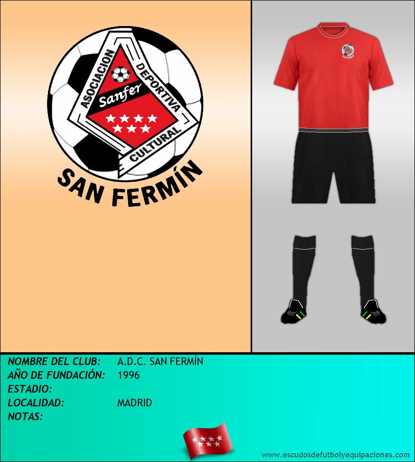 Escudo de A.D.C. SAN FERMÍN