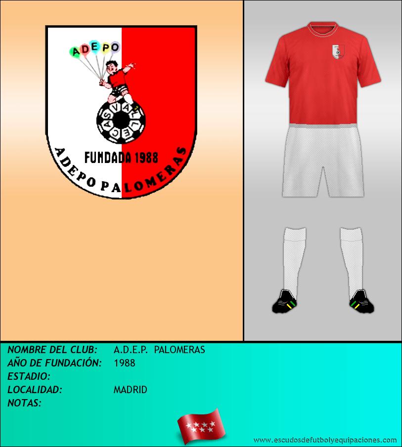 Escudo de A.D.E.P.  PALOMERAS