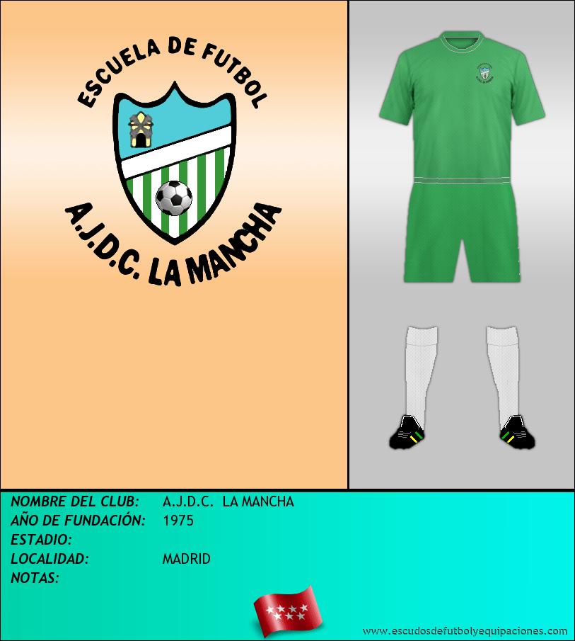 Escudo de A.J.D.C.  LA MANCHA