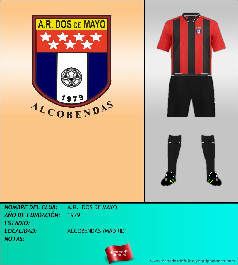 Escudo de A.R.  DOS DE MAYO