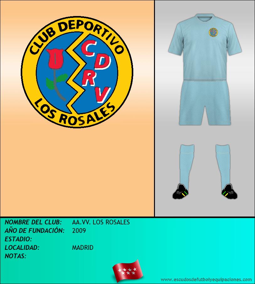 Escudo de AA.VV. LOS ROSALES