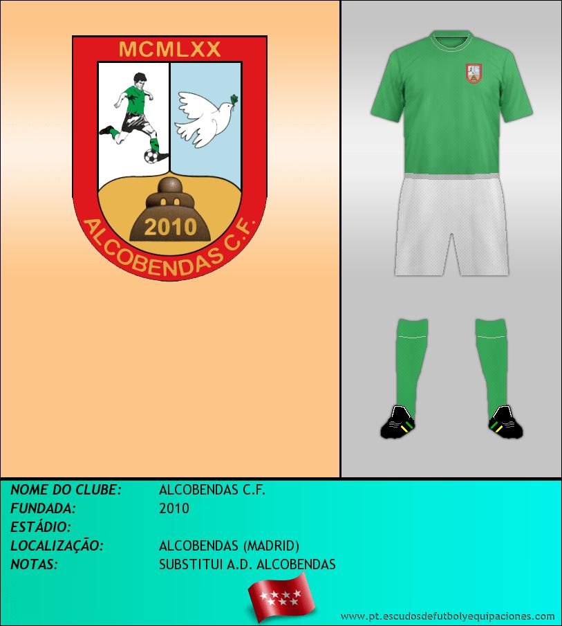 Escudo de ALCOBENDAS C.F.
