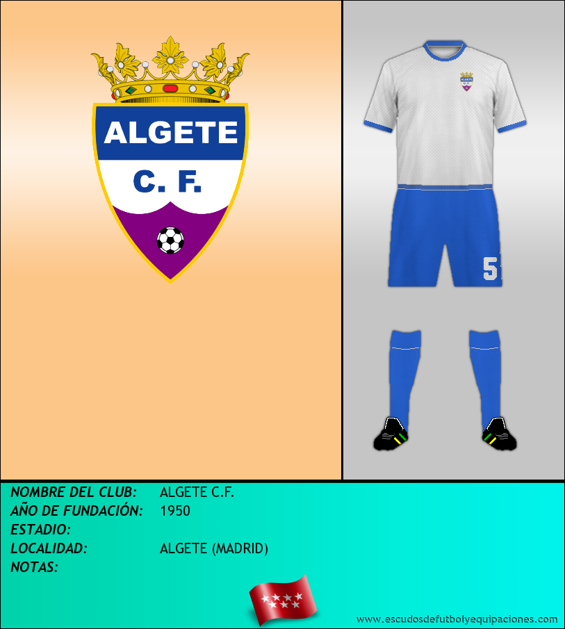 Escudo de ALGETE C.F.