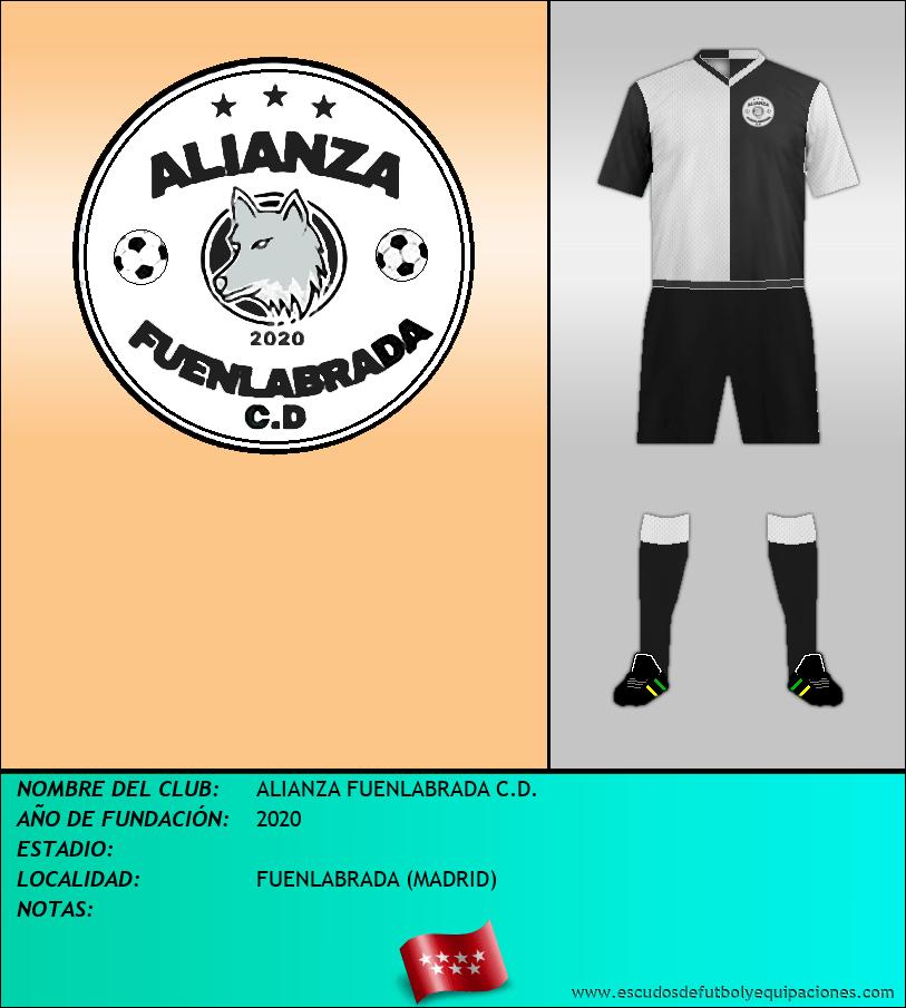 Escudo de ALIANZA FUENLABRADA C.D.