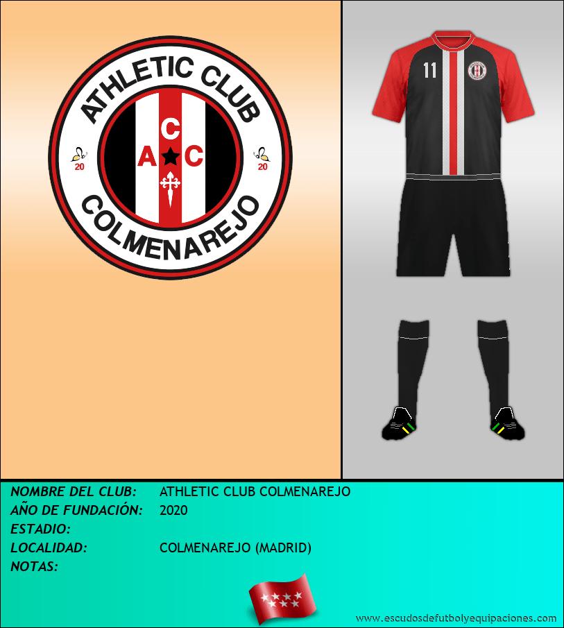 Escudo de ATHLETIC CLUB COLMENAREJO