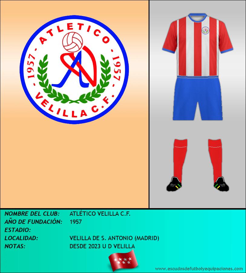 Escudo de ATLÉTICO VELILLA C.F.