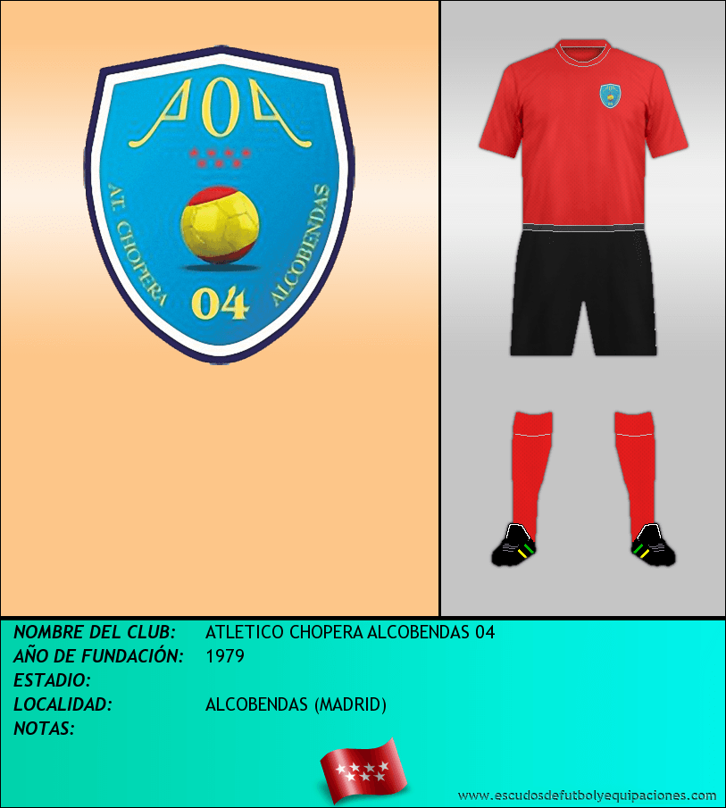 Escudo de ATLETICO CHOPERA ALCOBENDAS 04