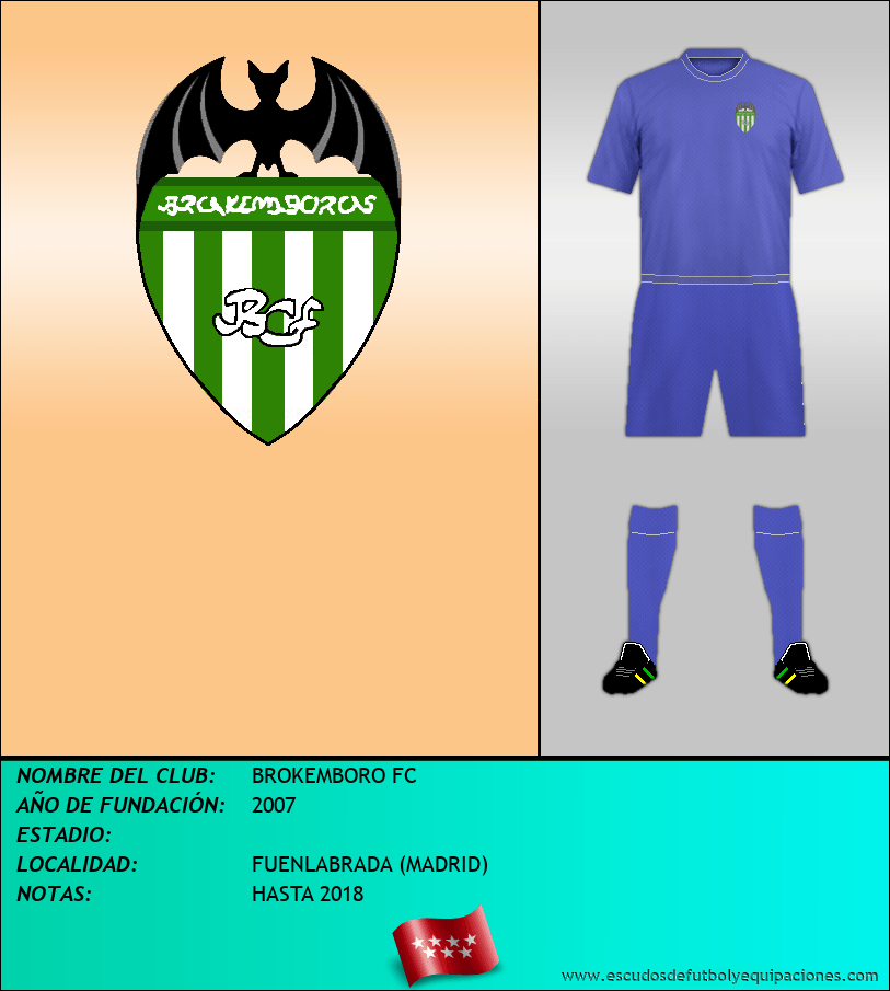 Escudo de BROKEMBORO FC