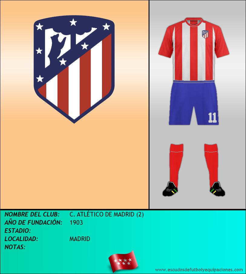 Escudo de C. ATLÉTICO DE MADRID (2)