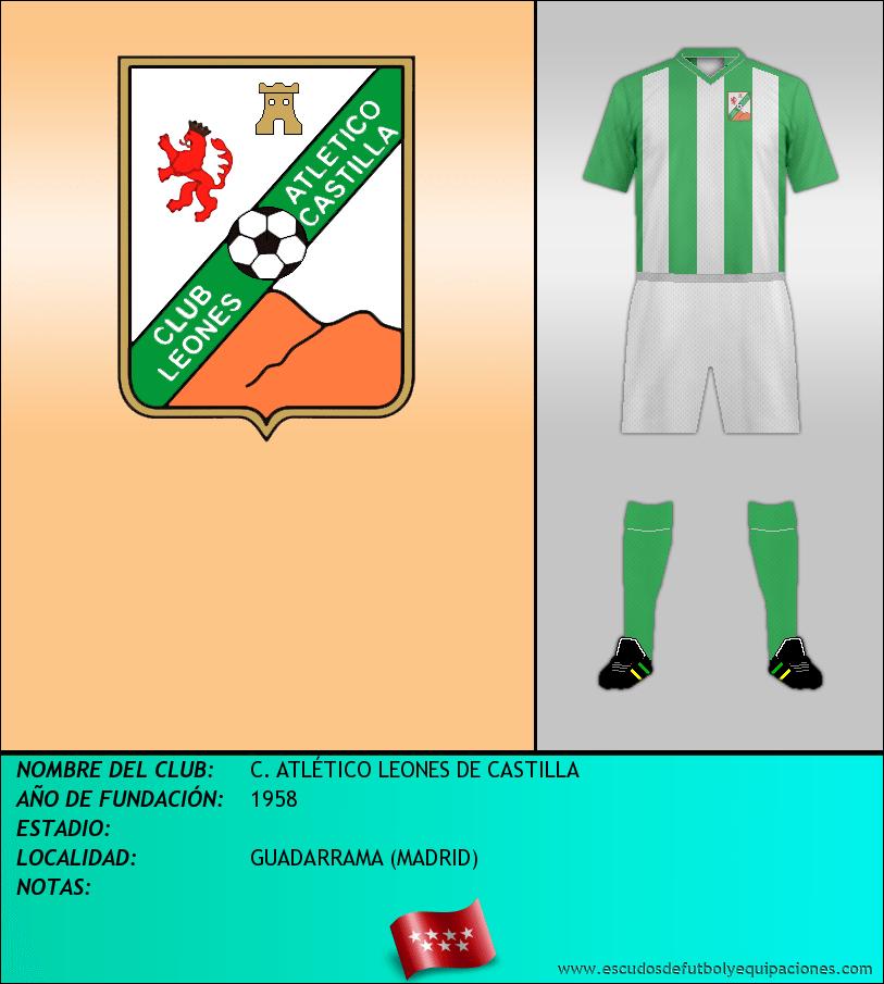 Escudo de C. ATLÉTICO LEONES DE CASTILLA