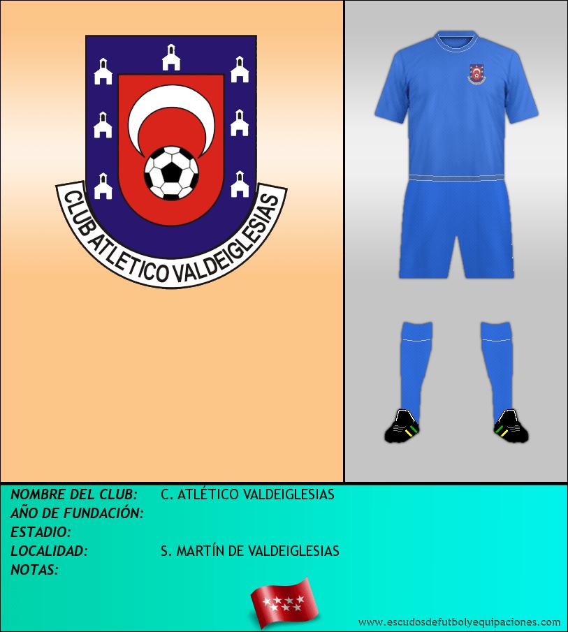 Escudo de C. ATLÉTICO VALDEIGLESIAS