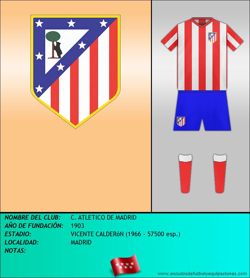 Escudo de C. ATLETICO DE MADRID
