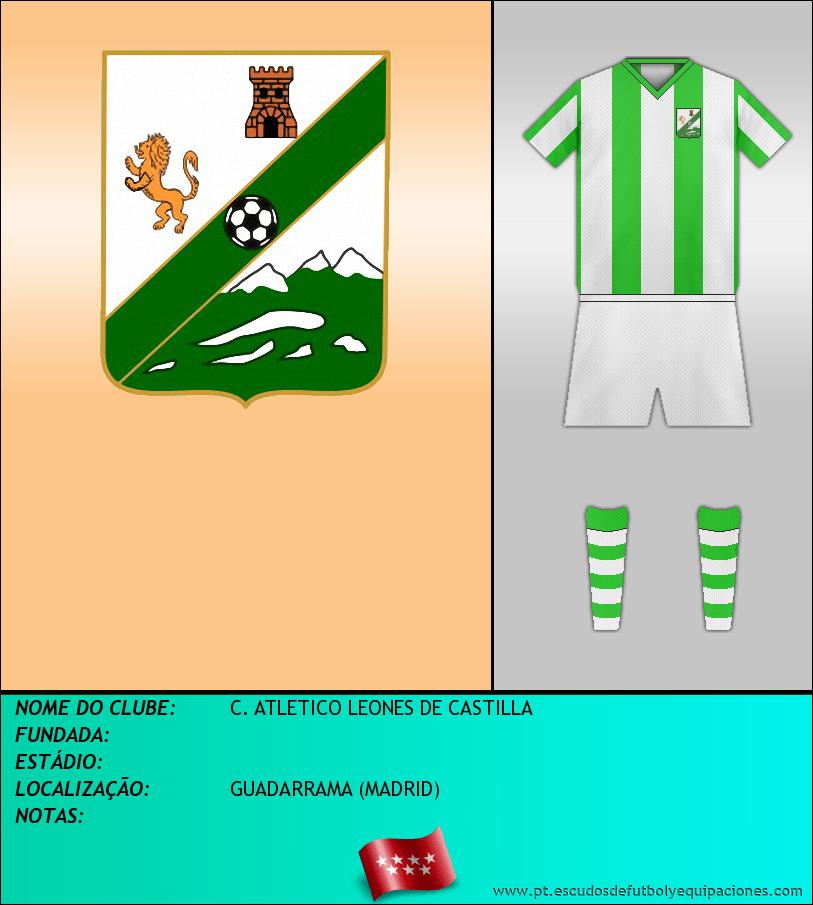 Escudo de C. ATLETICO LEONES DE CASTILLA