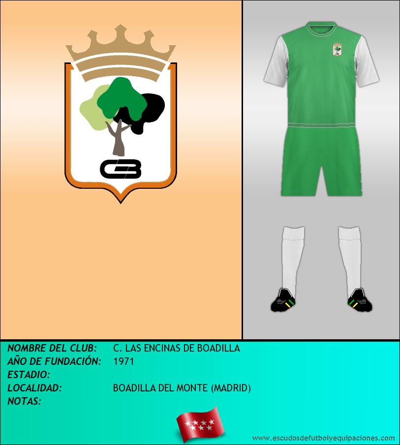 Escudo de C. LAS ENCINAS DE BOADILLA