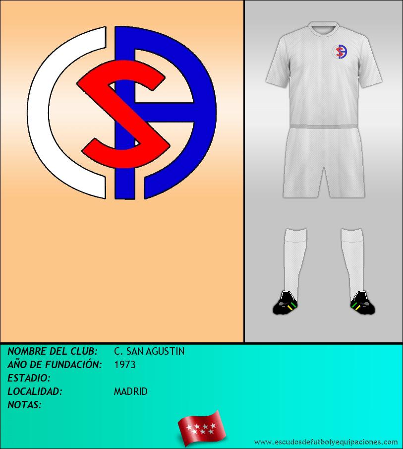 Escudo de C. SAN AGUSTIN