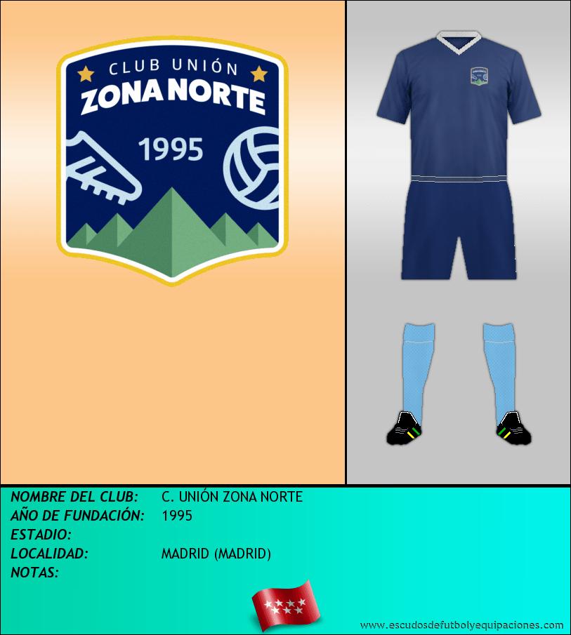 Escudo de C. UNIÓN ZONA NORTE