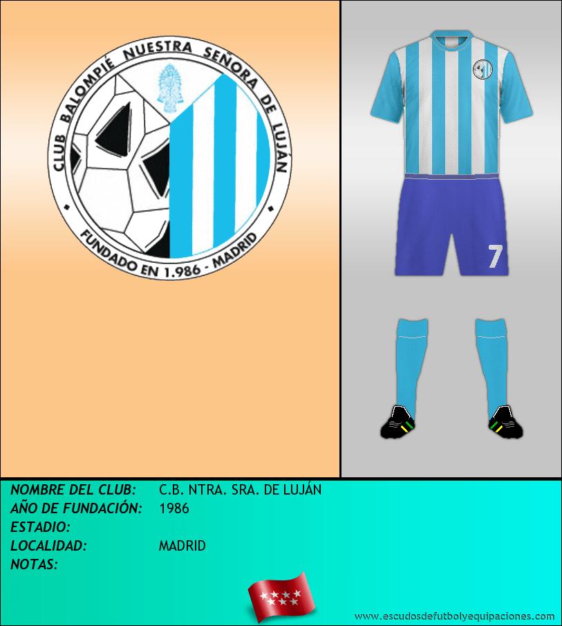 Escudo de C.B. NTRA. SRA. DE LUJÁN