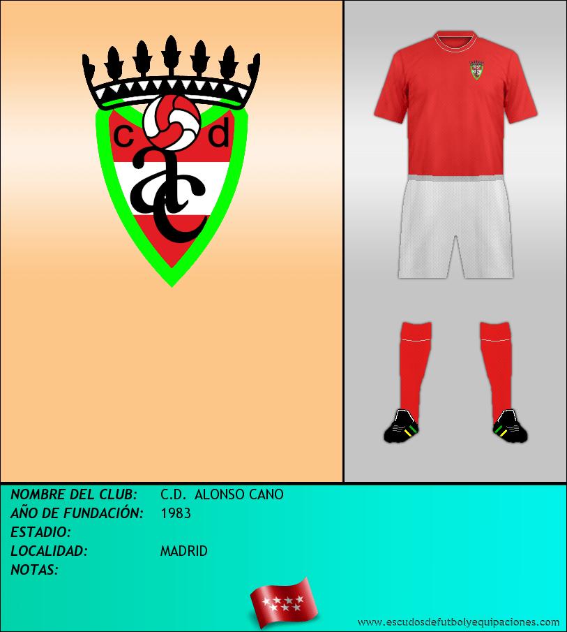 Escudo de C.D.  ALONSO CANO