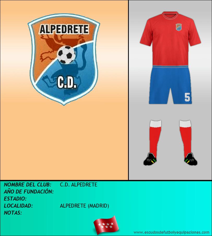 Escudo de C.D. ALPEDRETE