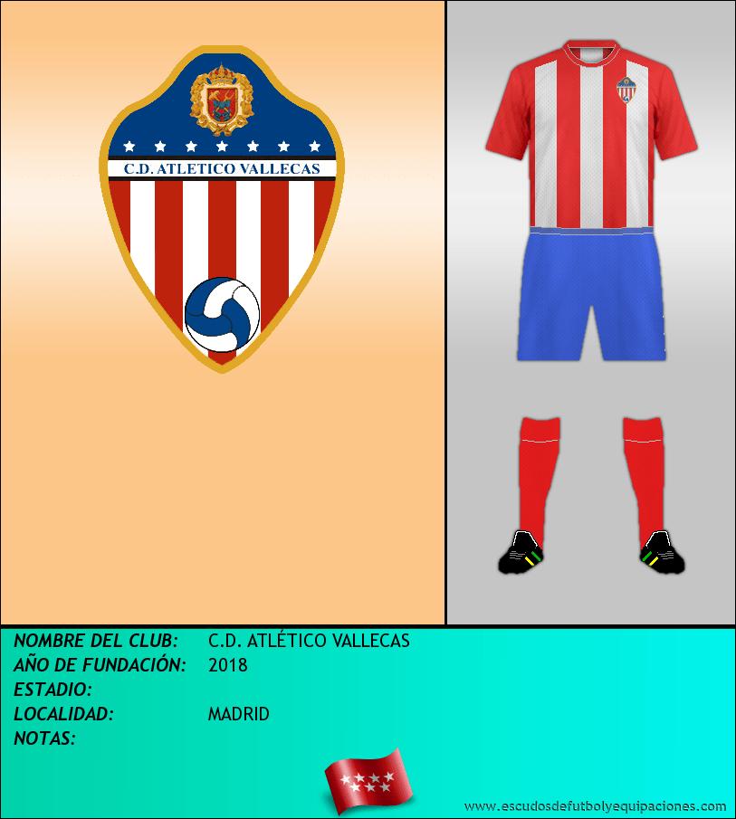Escudo de C.D. ATLÉTICO VALLECAS