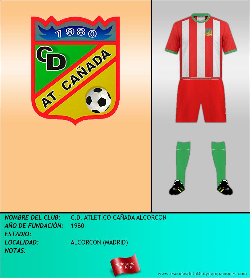 Escudo de C.D. ATLETICO CAÑADA ALCORCON