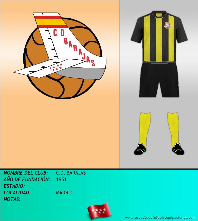Escudo de C.D. BARAJAS