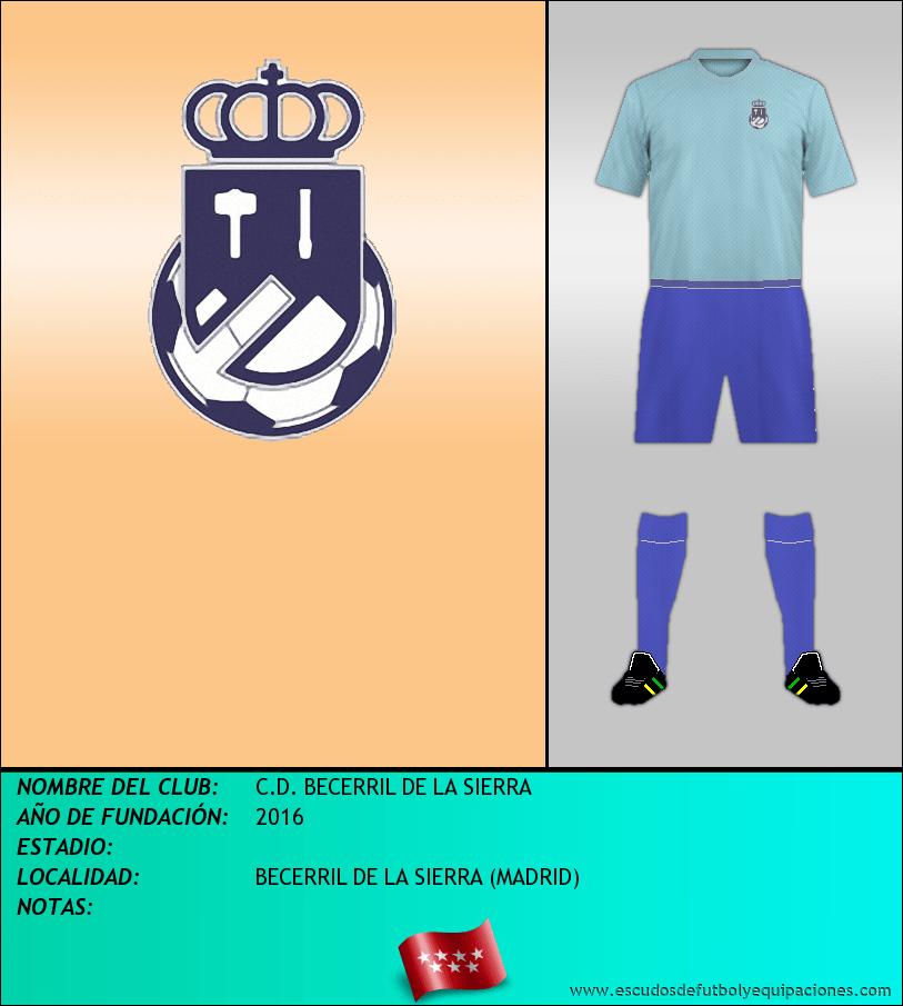Escudo de C.D. BECERRIL DE LA SIERRA
