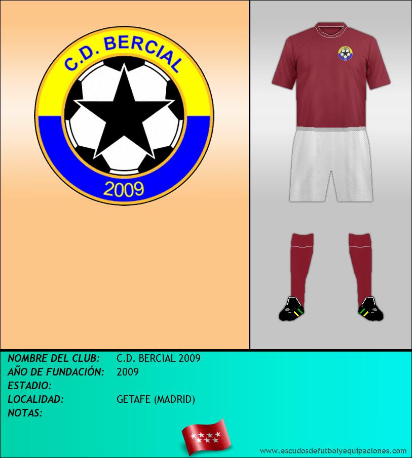 Escudo de C.D. BERCIAL 2009
