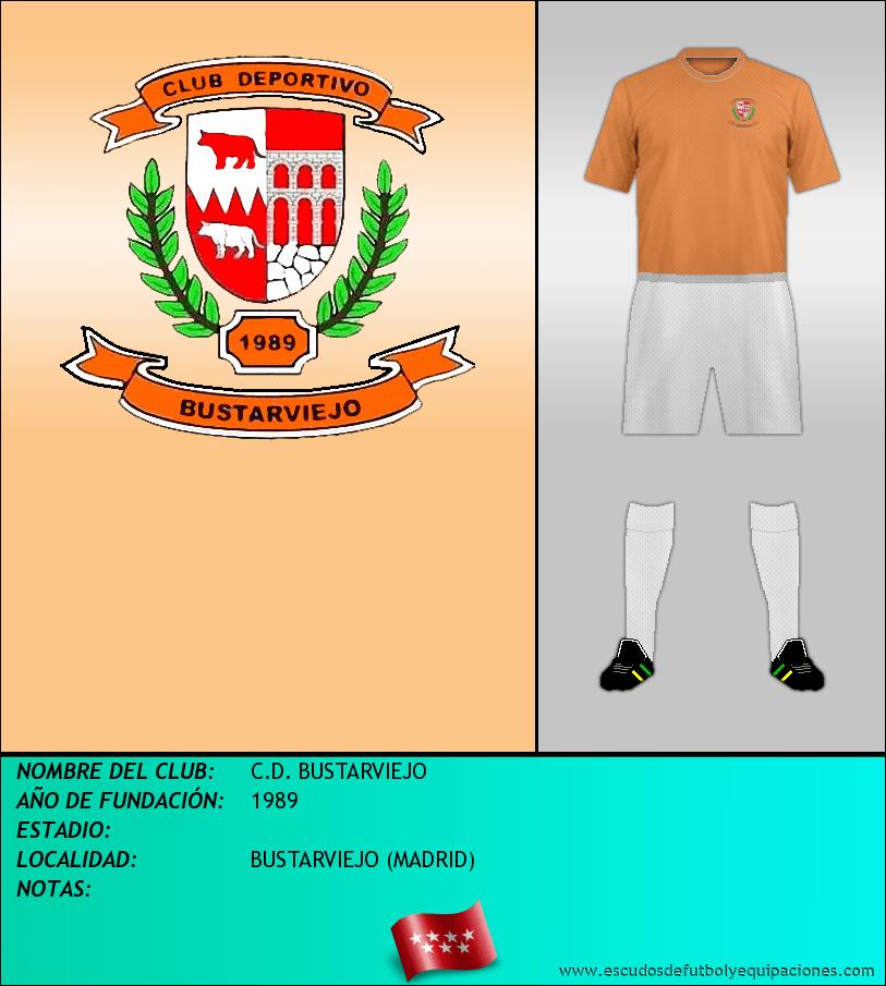 Escudo de C.D. BUSTARVIEJO