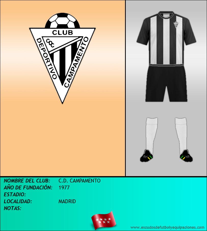 Escudo de C.D. CAMPAMENTO