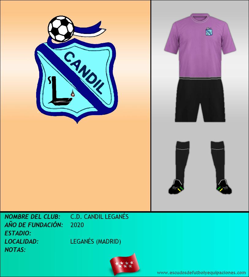 Escudo de C.D. CANDIL LEGANÉS