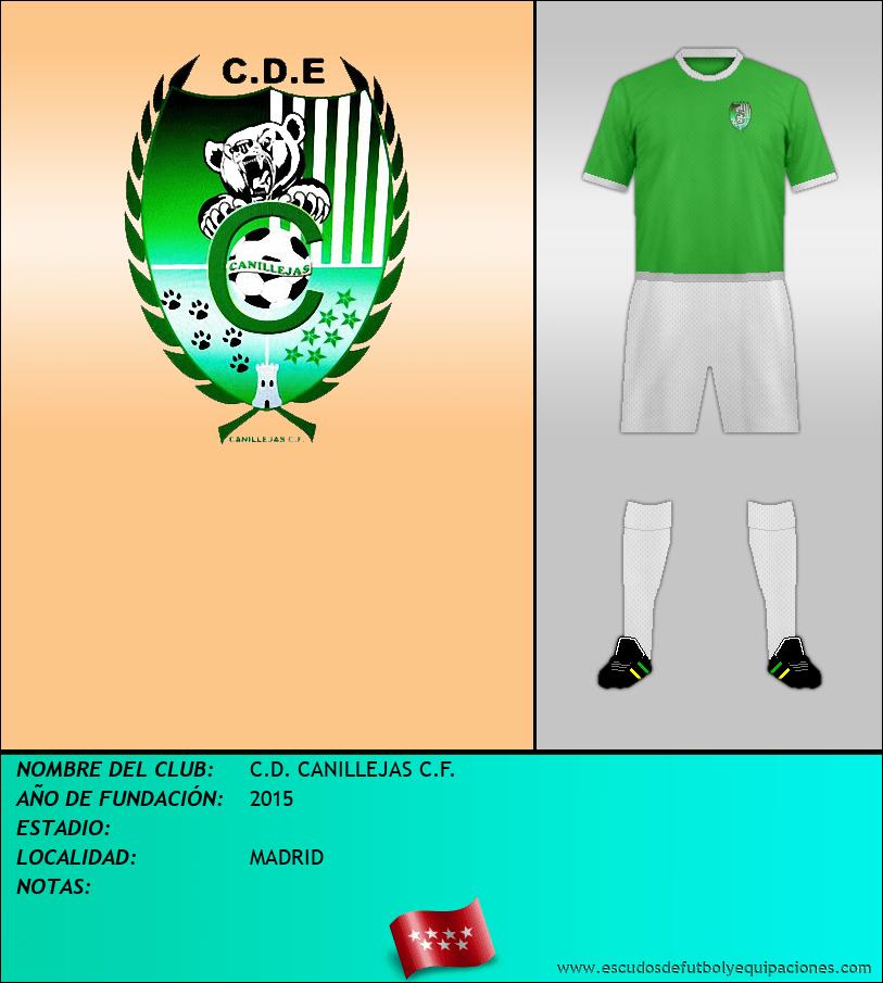 Escudo de C.D. CANILLEJAS C.F.